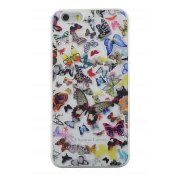 Christian Lacroix Butterfly Parade wit hoesje iPhone 5/5S/SE