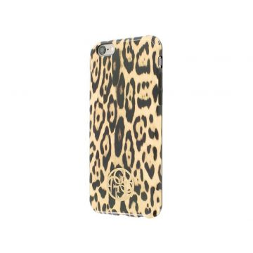 Guess luipaard patroon hoesje iPhone 6 6S