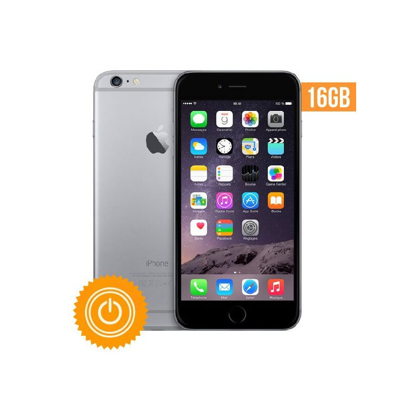 iphone 6 16 go gris sid ral reconditionn grade a macmaniack. Black Bedroom Furniture Sets. Home Design Ideas