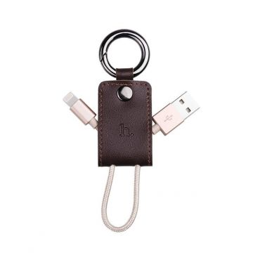 Hoco Keychain Lighting Cable for iPhone, iPod, iPad
