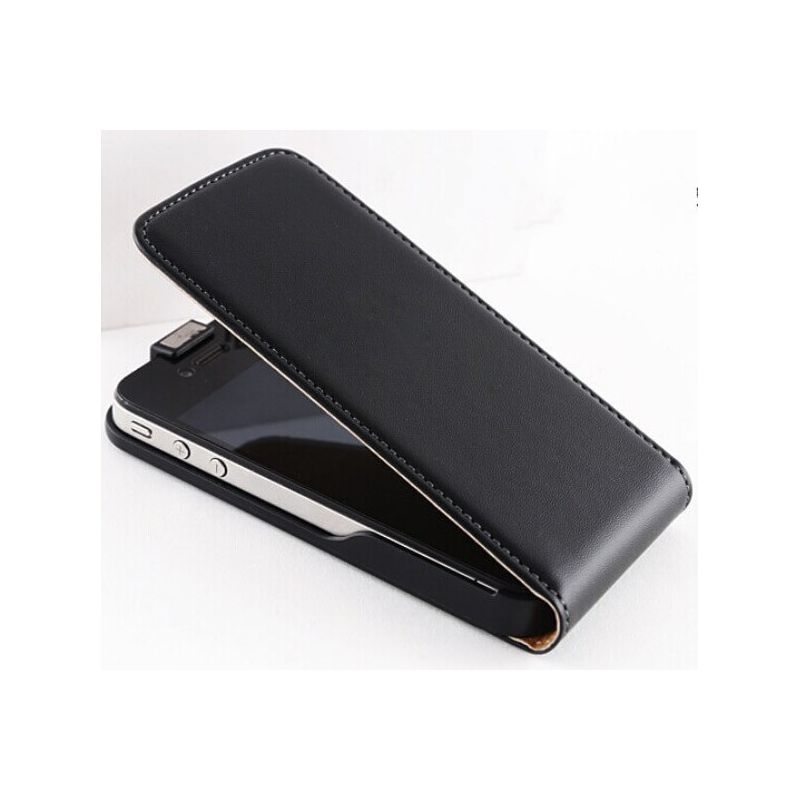 Leather look Vertical wallet Cover iPhone 5/5S/SE