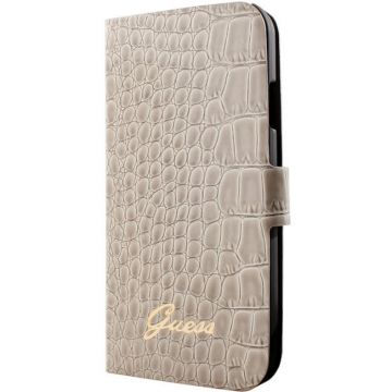 Guess Beige Croco Folio Case Samsung Galaxy S4