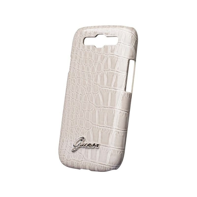 Coque Croco Beige Guess Samsung Galaxy S4