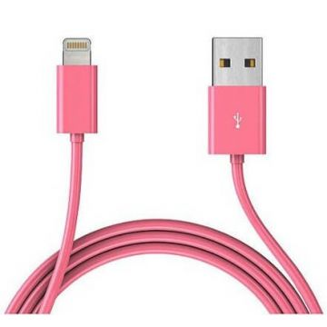 Cable lightning iPhone 5 de couleur, iPad Mini, iPod Touch 5 et Nano 7