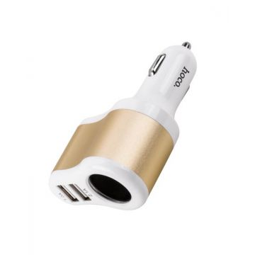 Chargeur voiture 2 USB Allume cigare Hoco