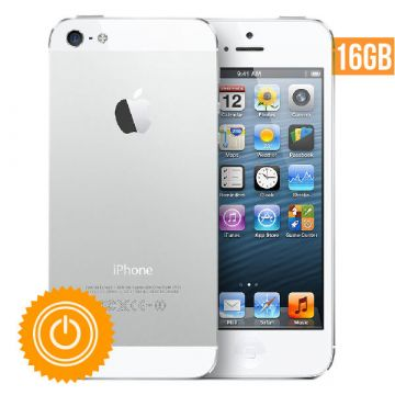 iPhone 5 refurbished - 16 GB wit - grade B