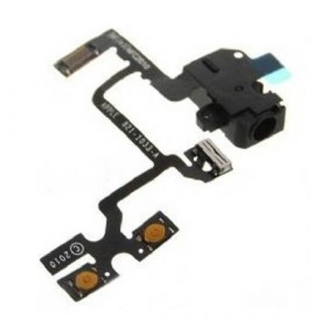 Flex jack audio, mute & volume for iPhone 4 black