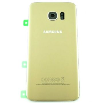 Samsung S7 Edge Original Gold Replacement Rug Cover
