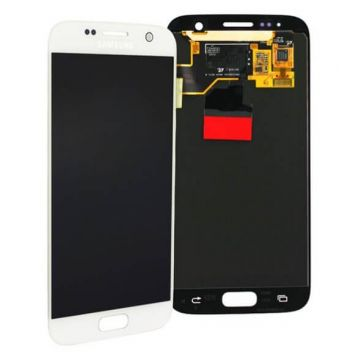 Original quality complete screen for Samsung Galaxy S7 in white