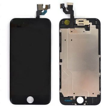 Complete 1st quality Glass digitizer, LCD Retina Screen for iPhone 6S black