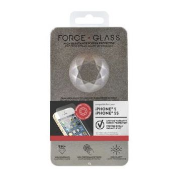 Protège-écran Force Glass Garanti à vie iPhone 5/5S/SE