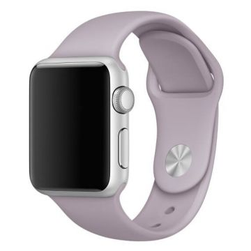 Lavendel paars siliconen bandje Apple Watch 38mm S/M M/L