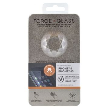 Protège-écran Force Glass Confidentiel Garanti à vie iPhone 6/6S