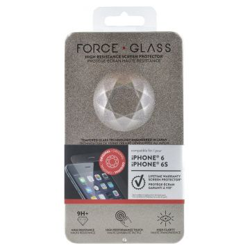 Protège-écran Force Glass Garanti à vie iPhone 6 Plus/6S Plus