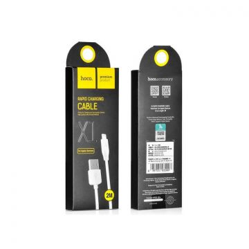 Hoco Rapid Charging Lightning Cable 2M