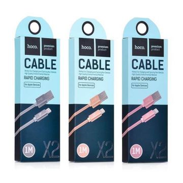 Hoco Lightning Knitted Cable