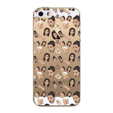 Kim Kardashian Emojis Model 1 iPhone 5/5S/SE Case