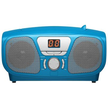 Bigben Blue Portable CD Player + 300 Stickers