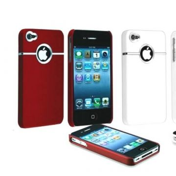 coque Silver Line Rouge
