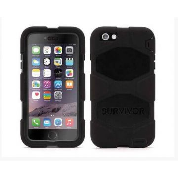 Indestructible Survivor Case Black for iPhone 6 Plus