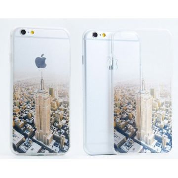 Coque Souple Empire State Building iPhone 5/5S/SE