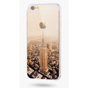 Soft Silicone Empire State Building iPhone 6/6S Case