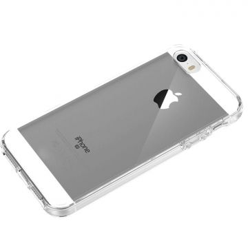 Coque souple 360° transparente iPhone 5/5S/SE