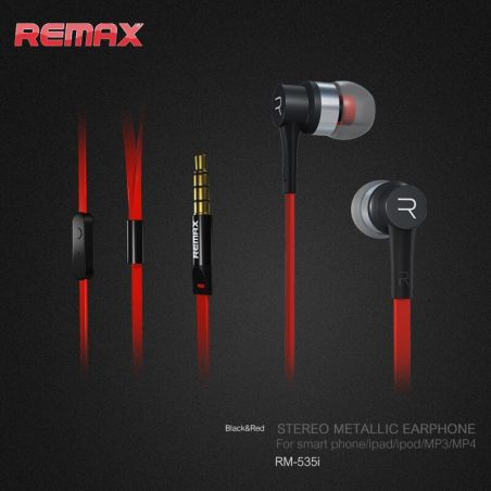 Remax intra-auricular headphones