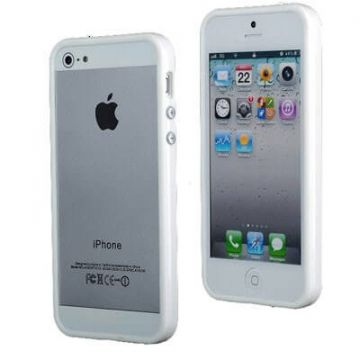 TPU Bumper White for iPhone 5/5S/SE