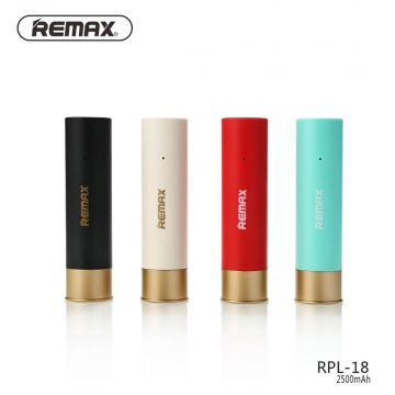 Remax Shotgun Shell External Power Bank 2500 mAh
