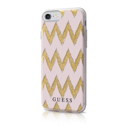 Coque Tribale Rose Guess iPhone 7
