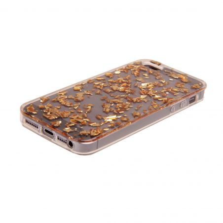 Gold Flakes iPhone 5/5S/SE Case