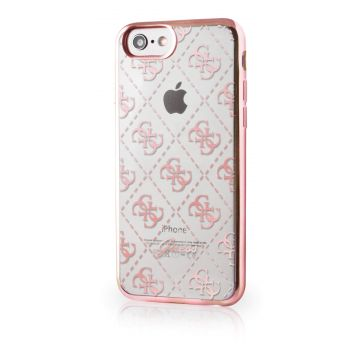 Coque Guess Clear Rose iPhone 7