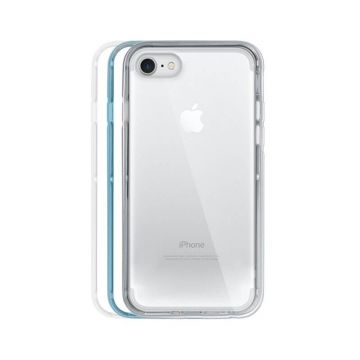 Coque Bumper Crystal 3 en 1 Argent iPhone 7 / iPhone 8