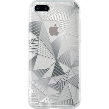 Coque Graphique Argent Bigben iPhone 7 Plus / iPhone 8 Plus