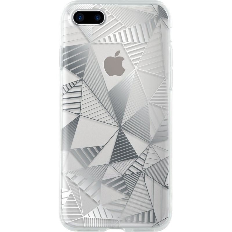 Bigben Silver Graphic Cover iPhone 7 Plus