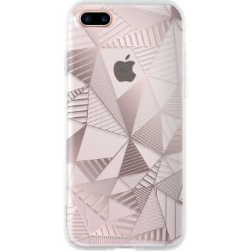 Coque Graphique Or Rose Bigben iPhone 7 Plus