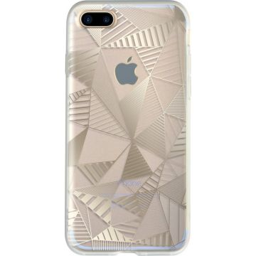 Coque Graphique Or Bigben iPhone 7 Plus