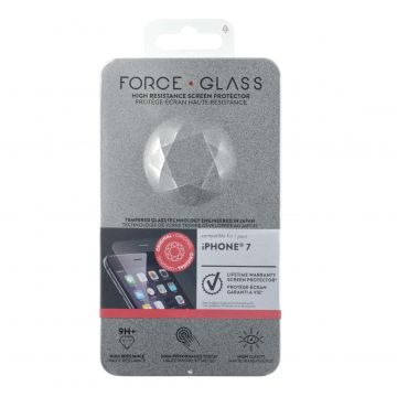Protège-écran Force Glass Garanti à vie iPhone 7 Plus