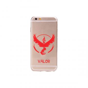 Coque Transparente Pokemon Go Team Bravoure iPhone 6/6S