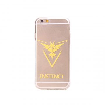 Pokemon Go Team Instinct Clear hoesje iPhone 6/6S