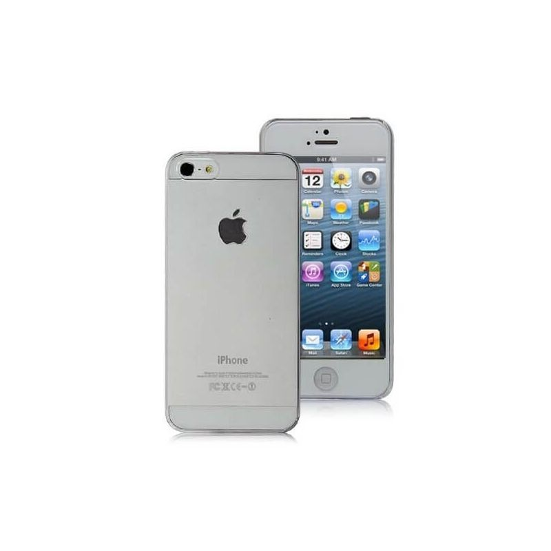 Cover Crystal Clear Transparent iPhone 5/5S/SE