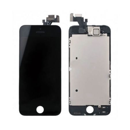 Original complete assembled Glass digitizer, LCD Retina Screen and Full Frame for iPhone 5 Black