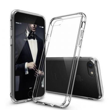 Dual TPU Case 360 Graden Cover 2 in 1 Transparant iPhone 7 Plus