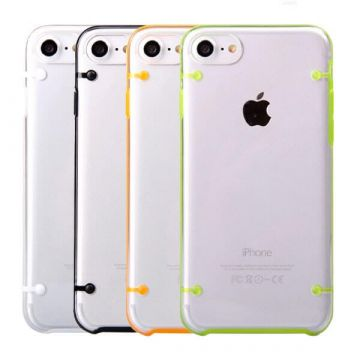 TPU soft case with colored frame iPhone 7 / iPhone 8