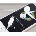 Quality IEarPods Headphones with Volume Control and Micro White