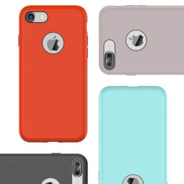 Coque en silicone Touch serie Rock iPhone 7 / iPhone 8