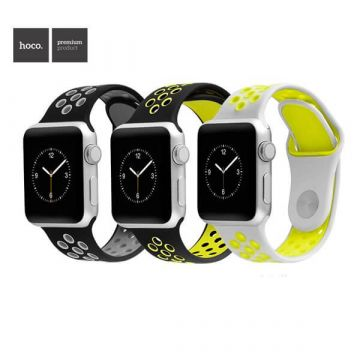 Milanese Hoco Apple Watch 38mm Black Bracelet