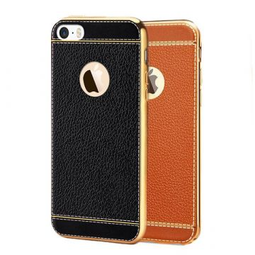 Imitation leather iPhone 7 Plus / iPhone 8 Plus soft case