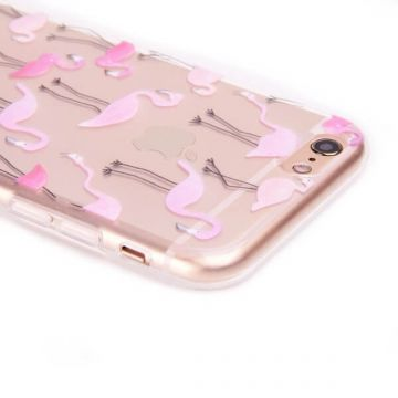 Coque TPU Flamant Rose iPhone 6 6S
